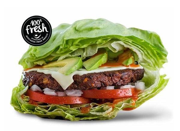 Build Your Own Veggie Burger
