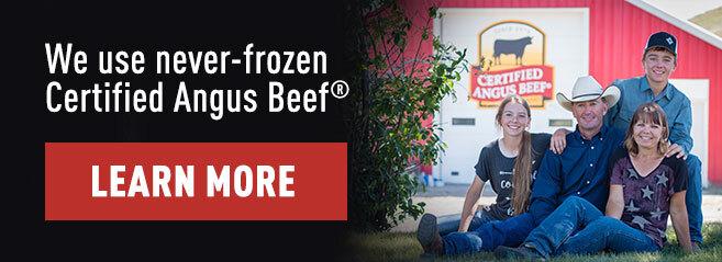 Menu Banner Certified Angus Beef