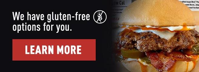 Menu Banner Gluten Free