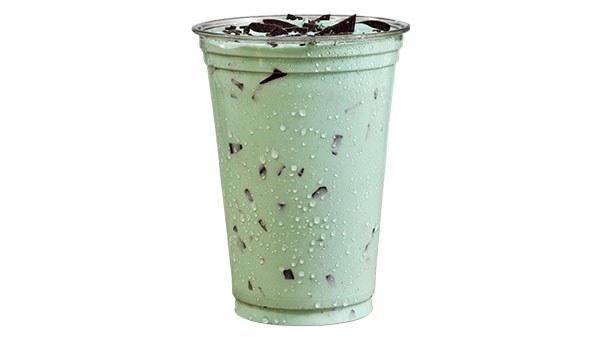 Mint Chocolate Chip Shake