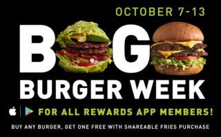 BOGO Burger Week 2019