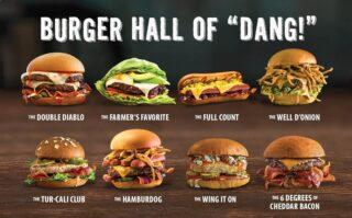 "The Burger Hall of ""Dang!"""