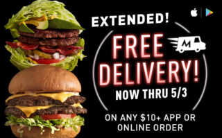 First Ever: Free Delivery!