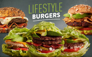 Introducing our Lifestyle Burgers