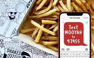 Join MOOYAH Text Club for Free Fries