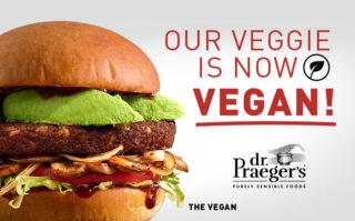 Our Veggie is NOW Vegan!