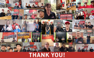 Thank you from our Franchise Owners