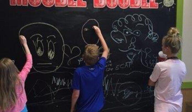 Hampton MOOYAH chalkboard wall