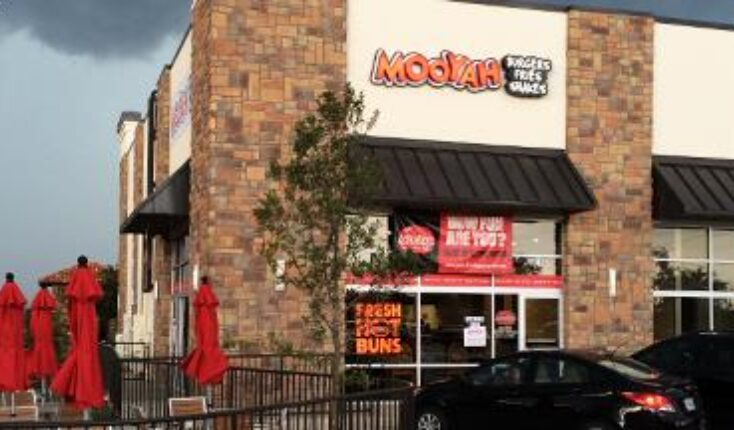 Best burgers in Fort Worth Texas - MOOYAH Burgers Fries and Shakes Alliance location exterior