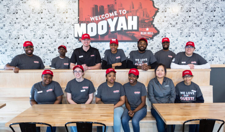 Mooyah Blue Bell Pa Team