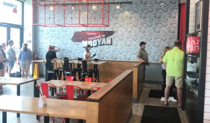 Mooyah Brentwood Tn Best Burger