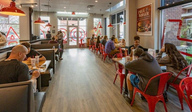 MOOYAH Frisco TX Remodeled Restaurant