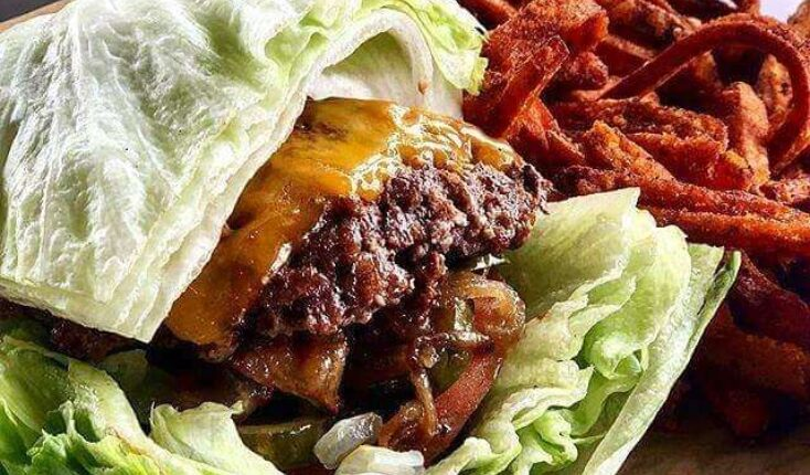 MOOYAH Iceburger Sweet Potato Fries
