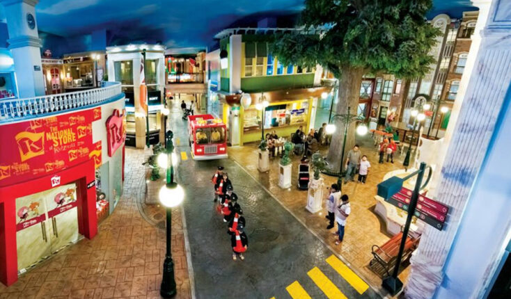 Mooyah Kid Zania Interactive City