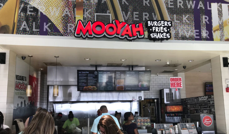MOOYAH New Orleans Riverwalk