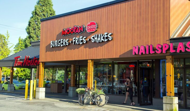 MOOYAH restaurants in North Vancouver Canada