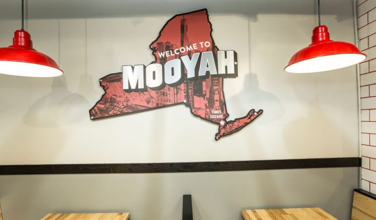 MOOYAH Welcome to Times Square NY