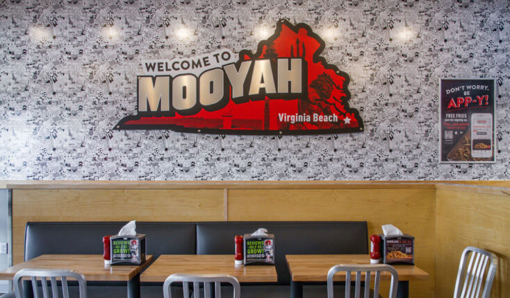 Mooyah Welcome To Virginia Beach