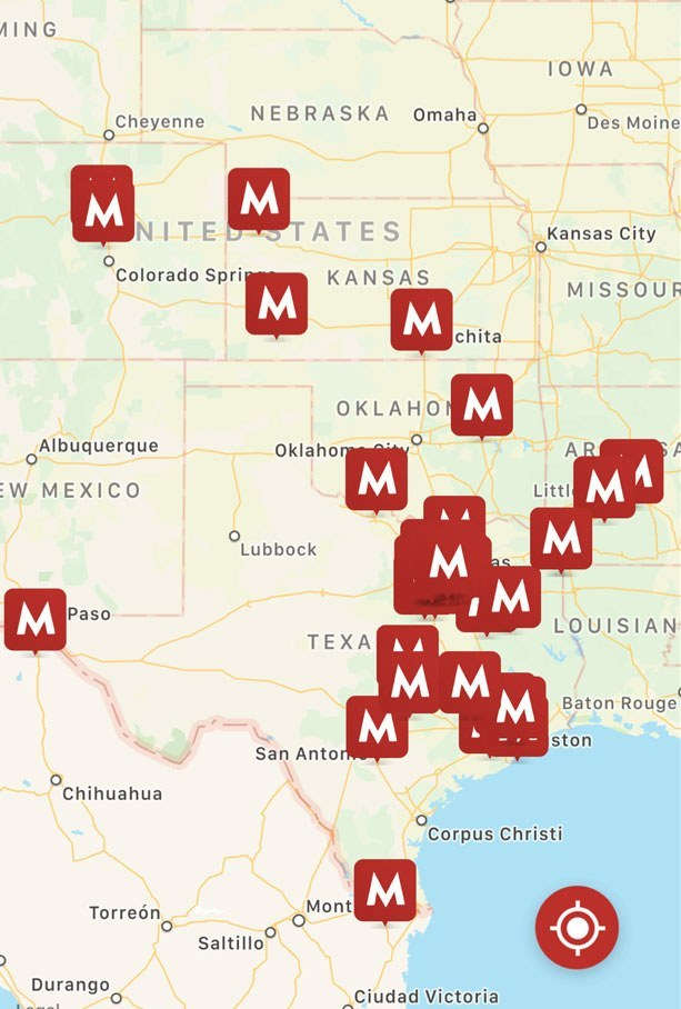 Find Mooyah Location Near Me