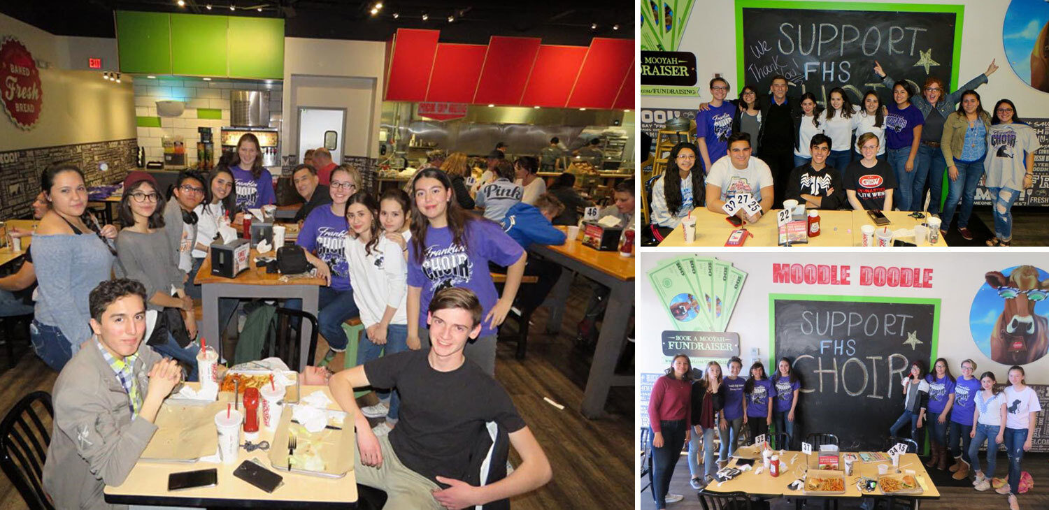 MOOYAH fundraising lets you raise money for your organization